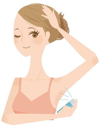 効果がある多汗症の悩みを消したい女性